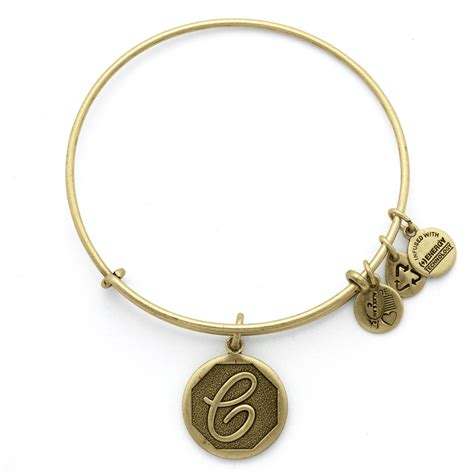 alex and ani initial c charm bangle wedding jewelry by alex and ani