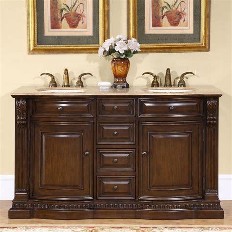 ivory ceramic kitchen sink 60 quot sink cabinet travertine top undermount ivory