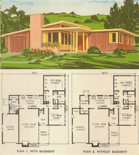 mid century modern floor plans mid century modern house plans for pleasure ayanahouse