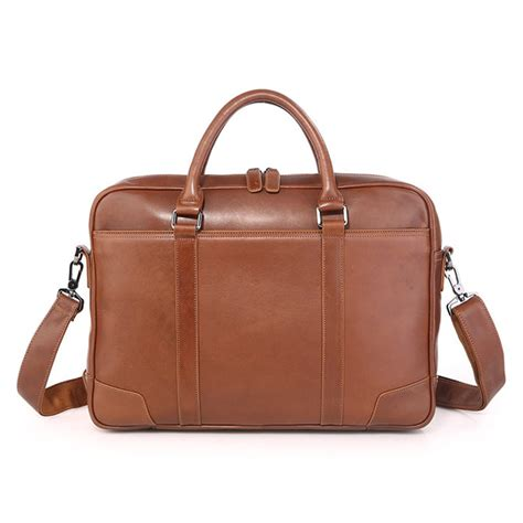 classic leather briefcase handmade classic business leather briefcase