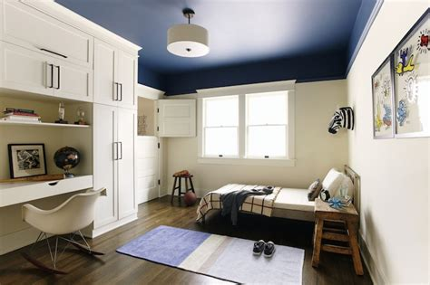 paint color for small room no light boy s built in desk contemporary boy s room simo design
