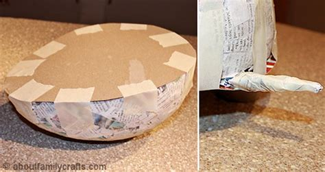 how to make a turtle out of paper mache patchwork turtle about family crafts
