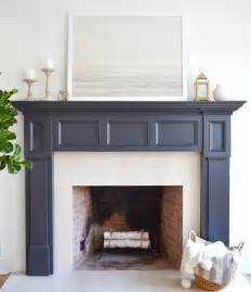 paint colors for fireplace best 25 painted fireplace mantels ideas on