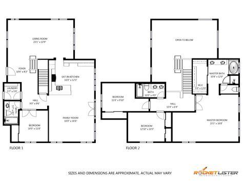 schematic floor plan 2d schematic floorplan portolfio rocket lister