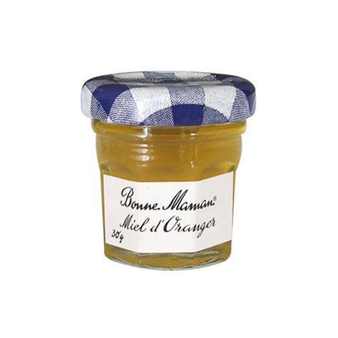 mini pot de miel fleurs d oranger bonne maman 30g x 60 achat pas cher