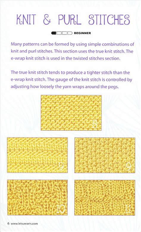 knitting stitch dictionary loom knit stitch dictionary from knitpicks knitting by