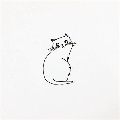 cat easy best 25 cat drawing ideas on