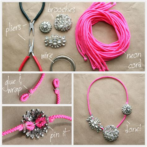 how to make statement jewelry diy statement necklaces