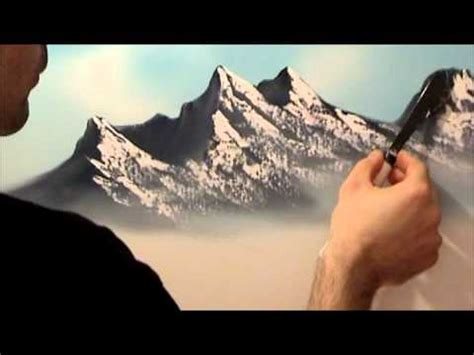 bob ross acrylic painting lesson excellent mountain tutorial free painting lessons