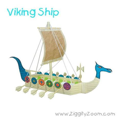 viking crafts for to make easy diy viking ship craft from recycled items ziggity zoom