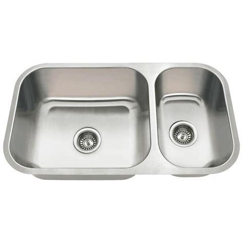homedepot kitchen sinks mr direct undermount stainless steel 32 in bowl