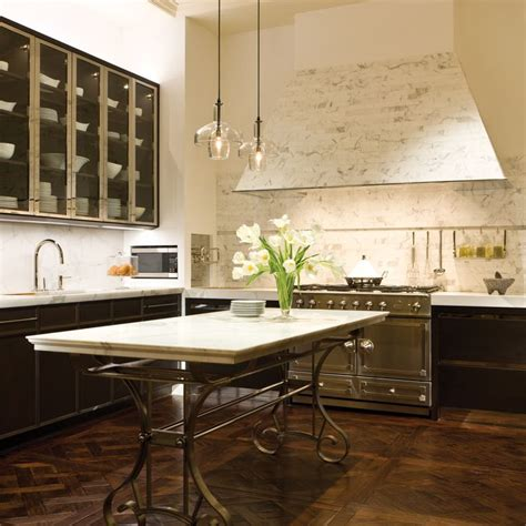 mick de giulio mick de giulio s marble tile clad home kitchen