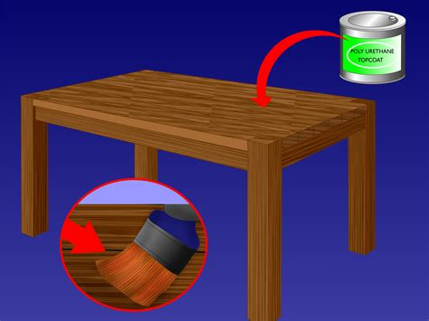 refinishing woodwork 3 ways to refinish a wood table wikihow