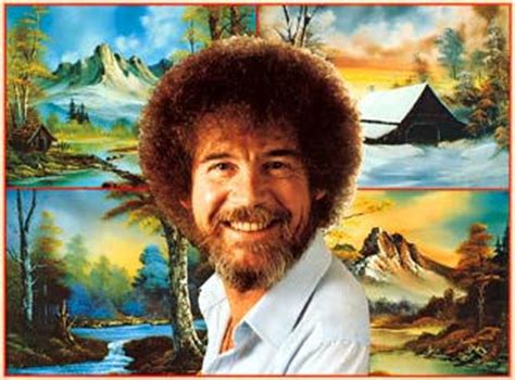 bob ross painting tv show tv artist teaches germans the of painting culture