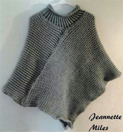 how to knit a poncho loom knitting poncho sewing and knitting