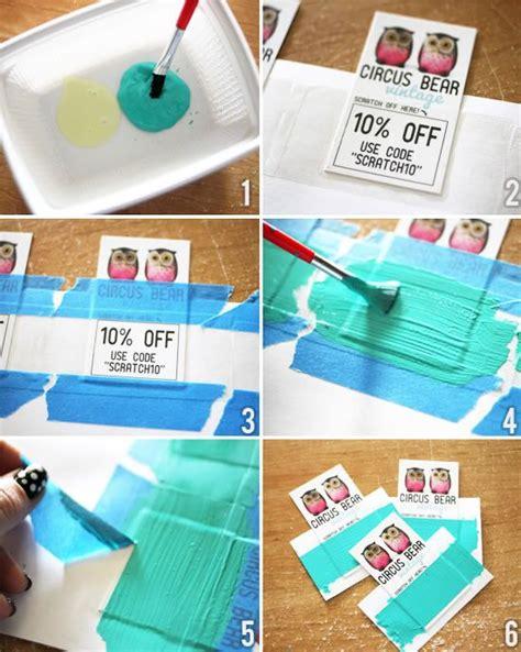 make scratch cards diy scratch cards martial arts and crafts