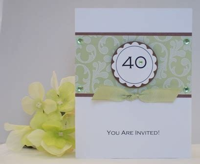 how to make birthday invitation cards at home 40th birthday invitations exles of handmade cards