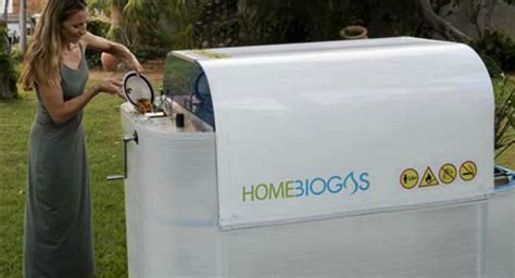for at home home sized biogas unit lets you convert your own organic