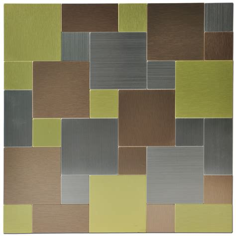 metal backsplash tiles for kitchens metal backsplash tiles for kitchen or bath 12x12 in 1 box