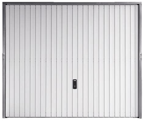 porte de garage basculante en acier blanc galvanis 233 2x2 375 m brico d 233 p 244 t