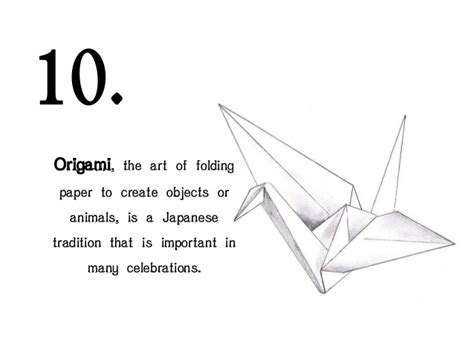 importance of origami in japanese culture 10 facts about japan culture