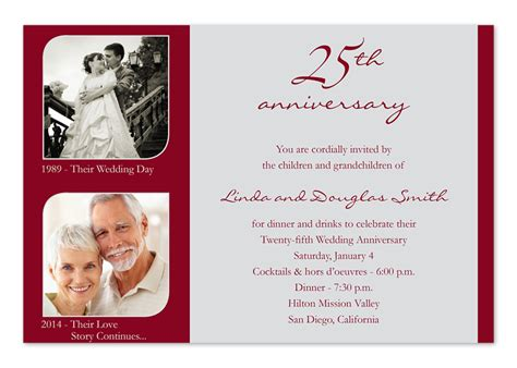 how to make invitation card for wedding amazing 25th wedding anniversary invitations theruntime