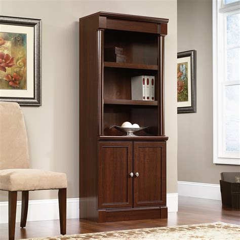 library bookcase with doors sauder palladia library bookcase with doors 412019