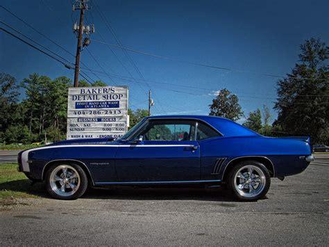 Classic Car Wallpaper Set In Trim by 69 Z28 Dusk Blue Autos Post