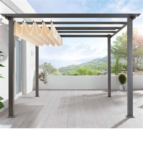 pergola with retractable shade 17 best ideas about retractable awning on