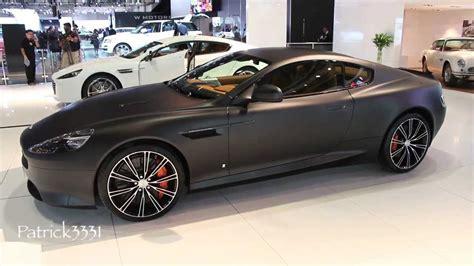 Matte Black Aston Martin by Matte Black Aston Martin Db9 Dubai Motor Show 2013
