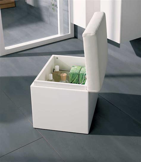 bathroom storage seats twyford all white finish bathroom seat with storage ta0901wh