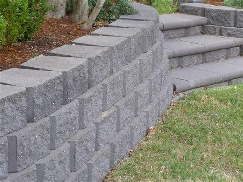 garden walls blocks garden retaining wall blocks systems hobart launceston