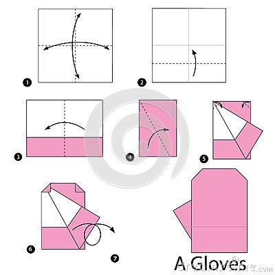 how to make origami gloves step by step how to make origami an gloves