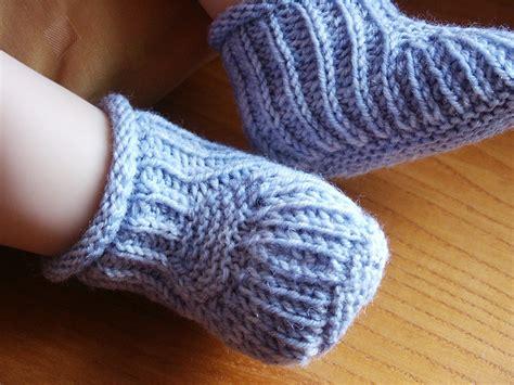 baby socks knitting pattern knitting patterns galore blue steps baby booties