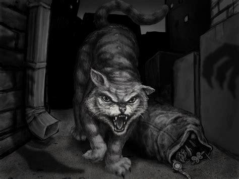 Evil Cat Illustration By Grumbleputty On Deviantart