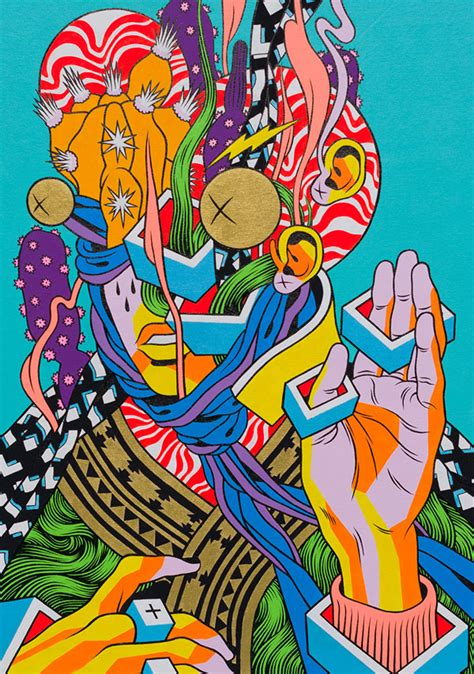 brazil painting show artist duo bicicleta sem freio booooooom