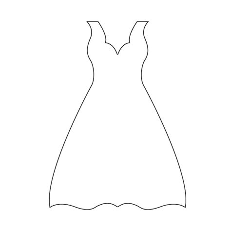 dress template for card dress plasma craftwork cards templates