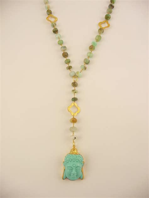 buddhist necklace buddha necklaces turquoise buddha pendant and