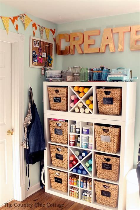 arts and craft storage for 25 unique supplies storage ideas on