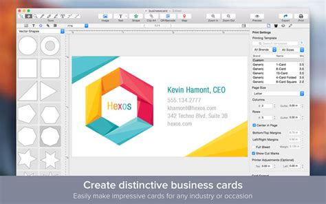 card program for mac free program to create business cards for mac image