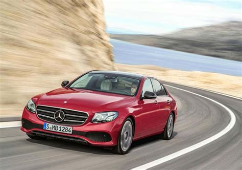 2017 Mercedes E Class by 2017 Mercedes E Class Appeared Undisguised