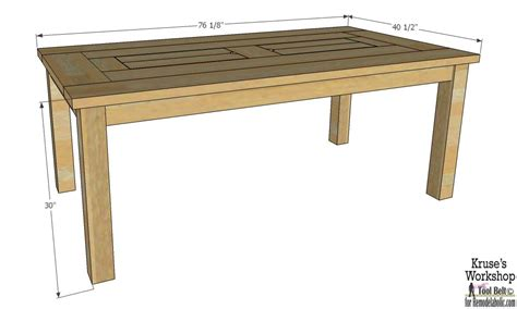 patio furniture table remodelaholic building plans patio table with built in