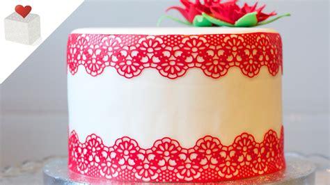 decoracion tartas fondant paso a paso c 243 mo hacer encaje comestible paso a paso decoraci 243 n de