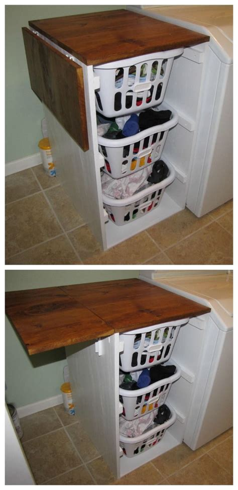 laundry room table with storage best 25 laundry basket dresser ideas on