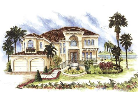 mediterranean house plans mediterranean houseplans home design catania