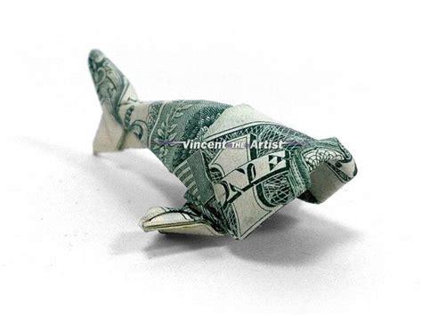 money fish origami baby fish dollar origami money dollar origami