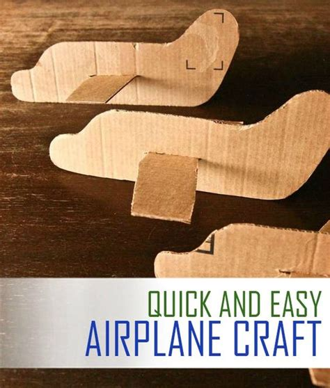 how to make a card fly around you cardboard airplane airplane crafts and airplanes on