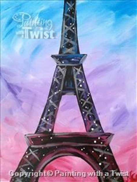 paint with a twist eiffel tower 17 best ideas about painting on