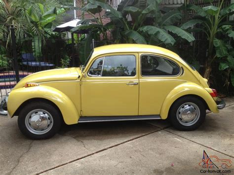 72 Volkswagen Beetle 72 1972 vw volkswagen beetle unrestored survivor