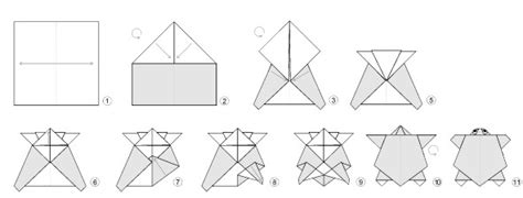 origami turtle diagram 1000 images about origami on